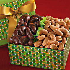 Jumbo Cashew Collection :  gourmet cashews chocolate nuts
