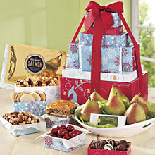 Holiday Tower of Treats Gift - Deluxe
