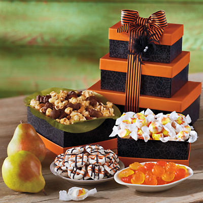 Halloween Tower of Treats Gift
