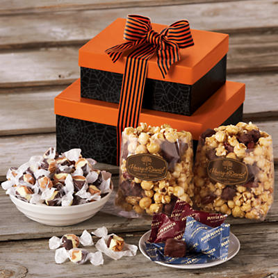 Halloween Moose Munch Popcorn Gift Tower
