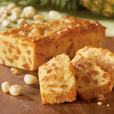 Pineapple Macadamia Nut Cake