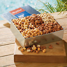NEW Gourmet Nut Gift Tin