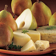 Royal Riviera® Pears and Havarti Cheeses