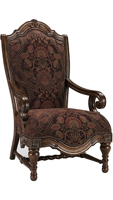 Grand Tuscan Accent Chair