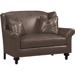 Landon Settee - Leather