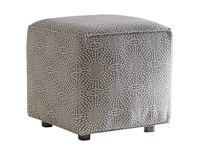 Kara Cube Ottoman