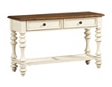 Southport Sofa Table - Distressed White