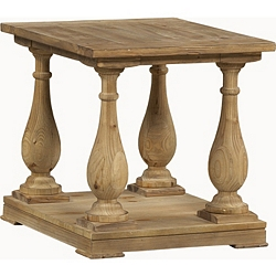 Baluster End Table