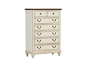 Southport Drawer Chest - Distressed White