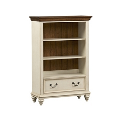 Southport Bookcase - Distressed White
