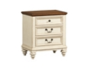 Southport Drawer Nightstand - Distressed White