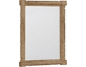 Willowwood Road SugarberryTurned Mirror - Pine
