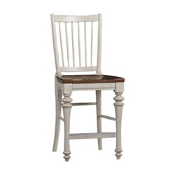 Southport Pub Chair - Distressed White