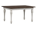 Southport Leg Table - Distressed White
