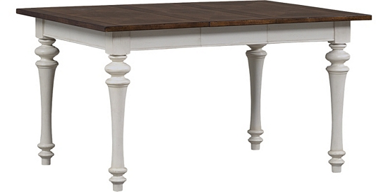 dining rooms southport leg table distressed white dining rooms - Distressed White Kitchen Table