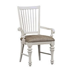 Southport Armchair - Distressed White