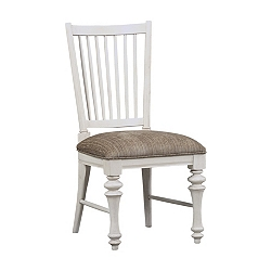 Southport Side Chair - Distressed White