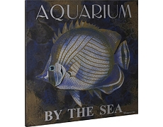 Aquarium by the Sea Canvas