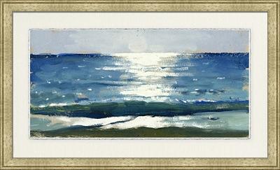 Approaching Calm Framed Art