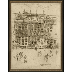 Grand Plaza Framed Art II