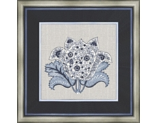 Abigail In Blue Framed Art I