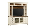 Southport Entertainment Center - Distressed White