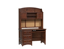 Cherry Wood Havertys Computer Desk With Hutch Wooden Desks