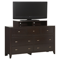 Midtown Dresser with Media Box