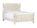 Southport Queen Panel Bed - Distressed White