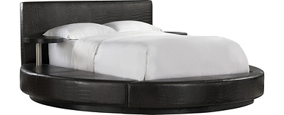 Padded Headboard Havertys Round Leather Bed Beds Bedroom
