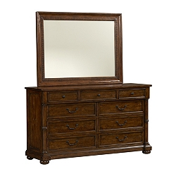 Bordeaux Dresser/Mirror