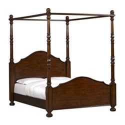 Bordeaux Queen Canopy Bed