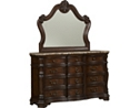 Villa Sonoma Dresser with Mirror - Dark