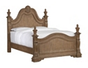 Villa Sonoma Queen Poster Bed - Light