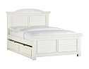 Cottage Retreat II Full Panel Bed with Trundle
