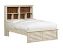 Southport Full Storage Bed - Distressed White