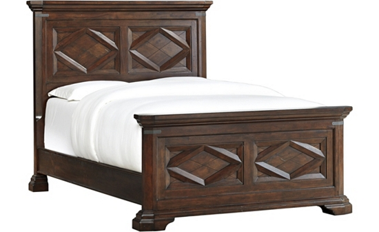 Bedrooms Newcastle Queen Panel Bed Bedrooms Havertys Furniture