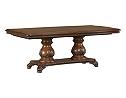 Villa Clare Double Pedestal Table
