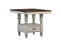 Southport Pub Table - Distressed White
