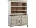 Southport China Cabinet - Distressed White