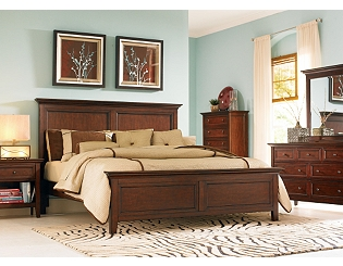 Ashebrooke bedroom set (Havertys)