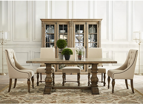Avondale display cabinet havertys for Dining room tables havertys