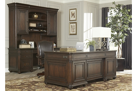 Office Furniture Westbury Executive Desk Havertys Trend