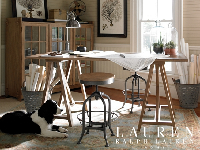 Lauren ralph lauren holly mathis interiors for Ralph lauren office furniture