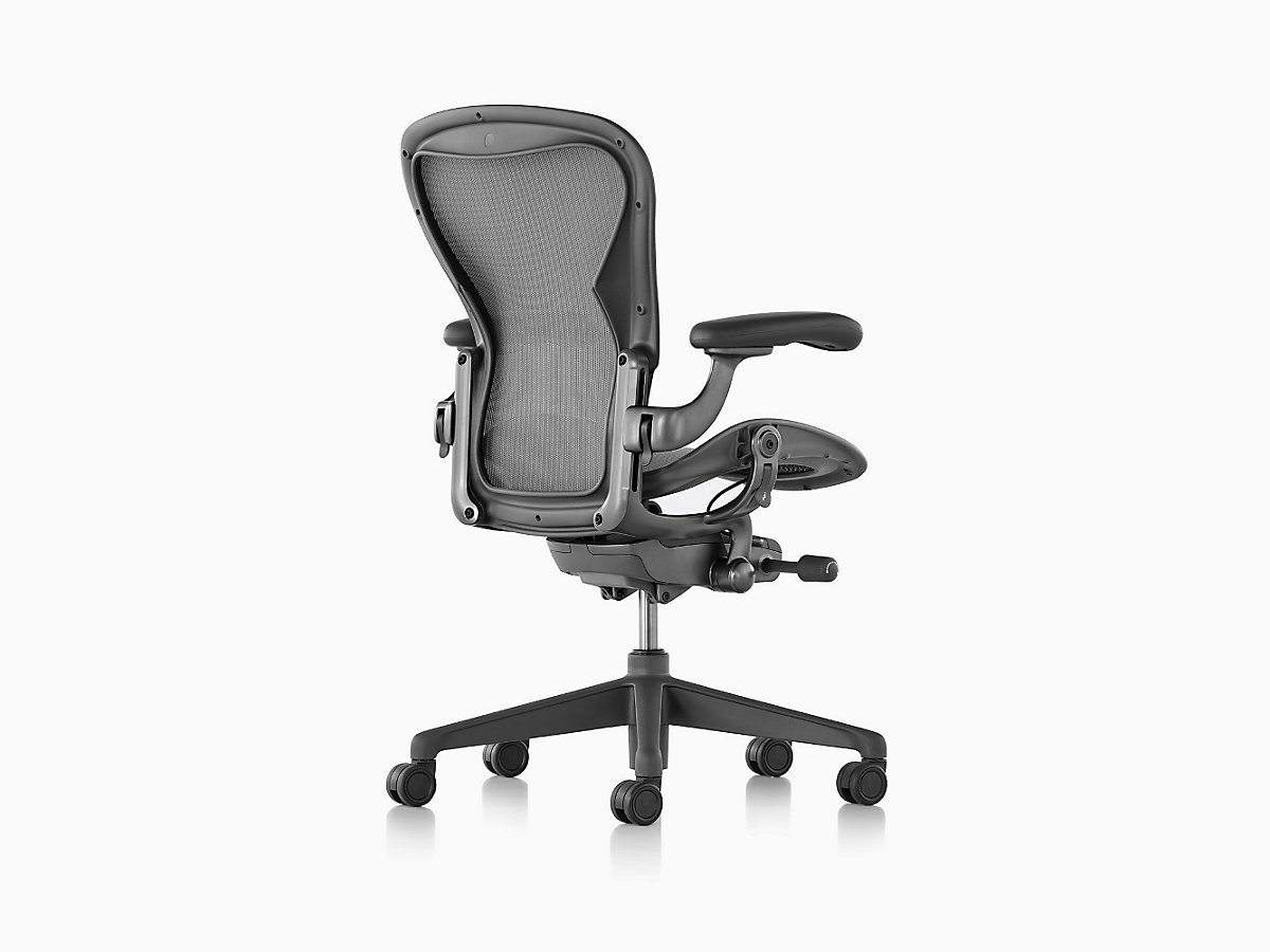 watch adjusting classic aeron chair