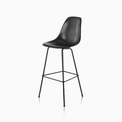 Eames Molded Fiberglass Stool Bar Height