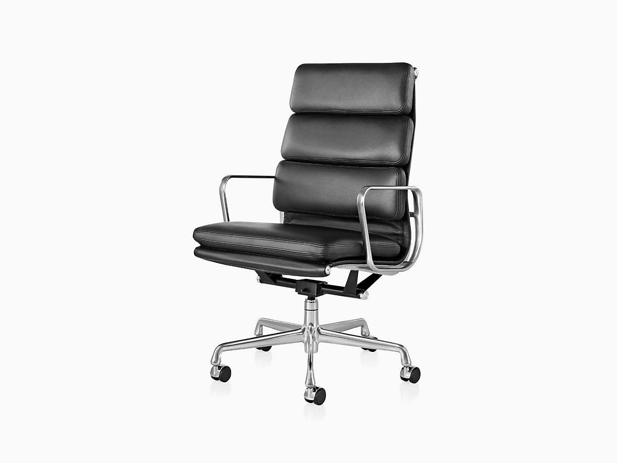 Eames Soft Pad Executive Chair. Eames Executive Work Chair. Home Design Ideas