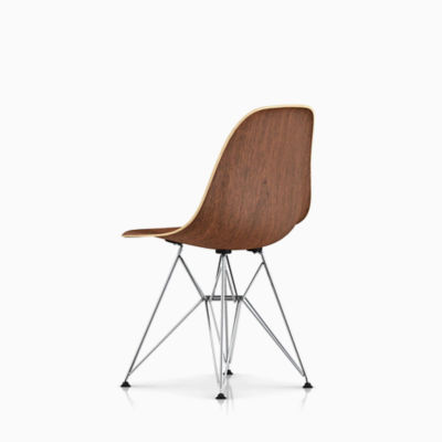 Eames Molded Wood Side Chair Wire Base