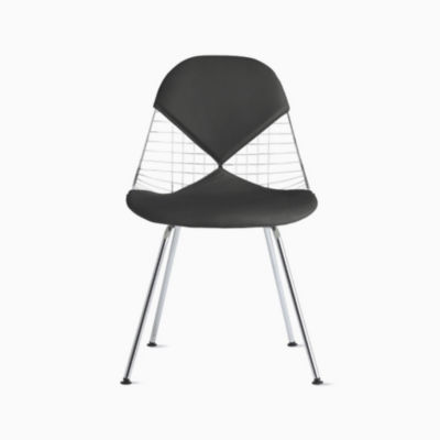 Eames Wire Chair with Bikini Pad 4-Leg Base