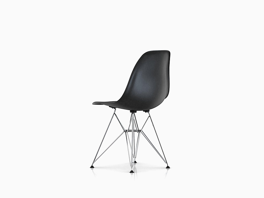 eames molded fiberglass side chair wire base herman miller. Black Bedroom Furniture Sets. Home Design Ideas